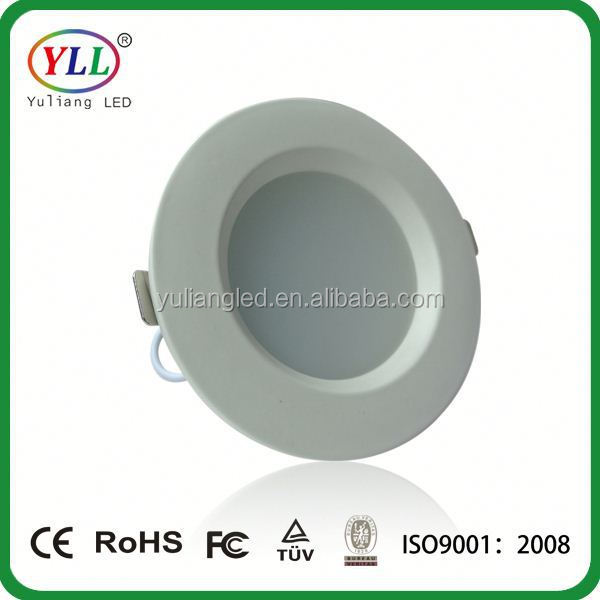 "6"" led retrofit down light 15w square recessed led downlight 7w high power ceiling downlight"