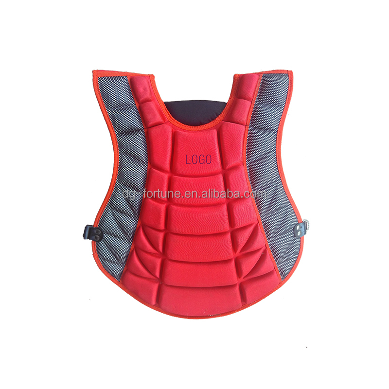 Hot sales EVA foam baseball chest protector for kids