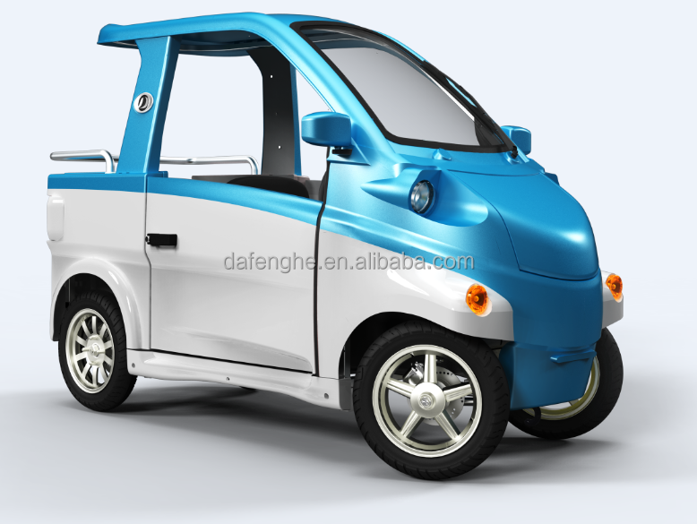 2 seats 4 wheel mini electric vehicle CE approved