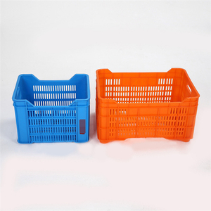 Quick Delivery Fish Collapsible Storage Industrial Plastic Crate