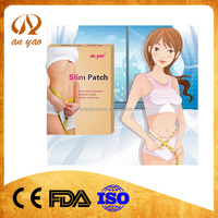 2015 Better effective Natural herbal weight loss navel slimming patch