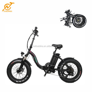 CNEBIKES 20*4.0 36v 350w folding fat ebike electric bicycle