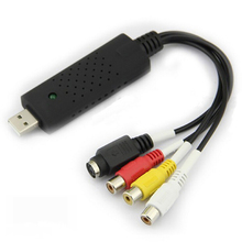 Wholesale USB 2.0 RCA usb adapter camera av dv 4 channel usb video capture card