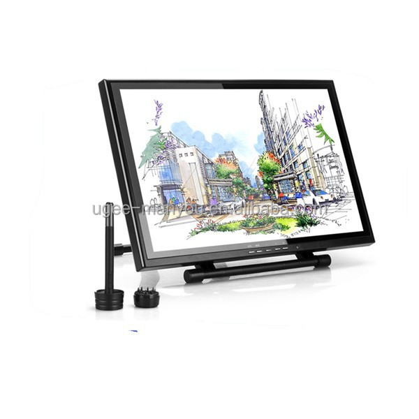Ugee UG1910B 19 Inch LCD Touch Screen Drawing Monitor Rechargeable Pen