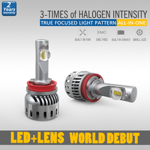 Well Designed canbus h11 led headlight with strong high beam