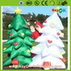 hot sale outdoor led inflatable christmas tree in china