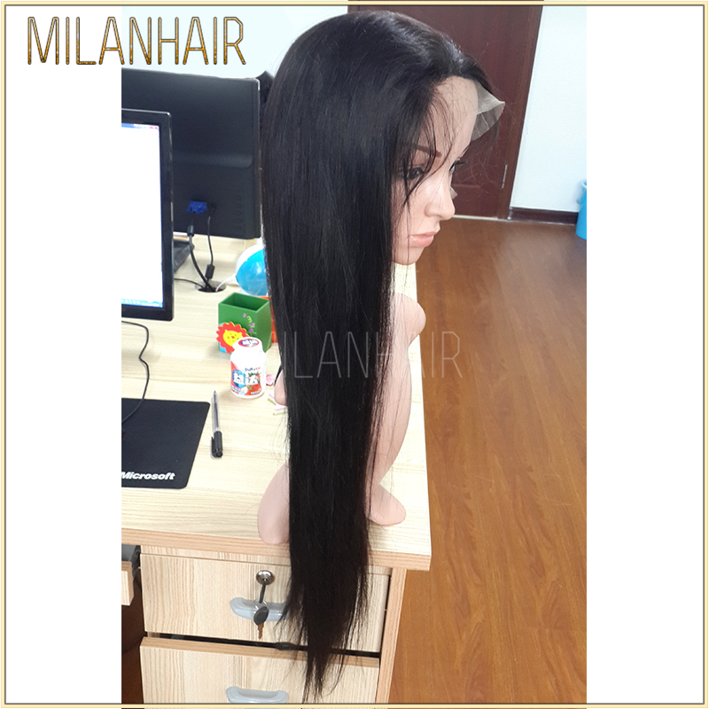 Top Quality Silky Straight Full Lace Human Hair Wigs In Dubai