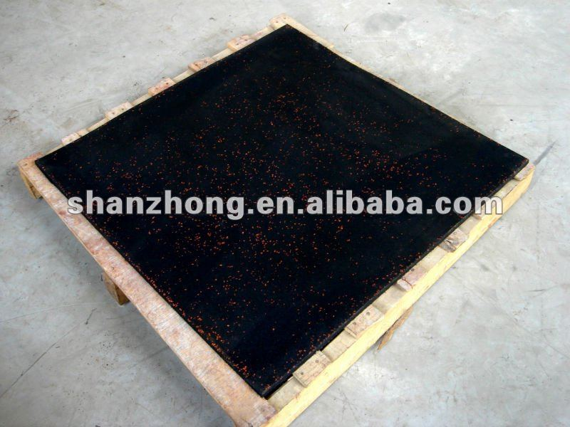 EPDM playground rubber flooring tile