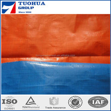 PE tarpaulin Blue/Orange for Iraq,Jordan Market