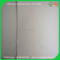 Gray Color Construction Paper Recycling Thick Paper Export Paperboard
