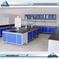 Dental Lab Furniture Physical Science Classroom Manufacturer Steel Bench Lab Table Equipments