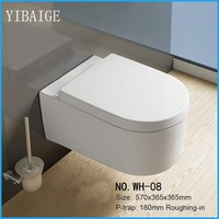 2016 New Trendy Back to Wall Toilet, Wall Toilet, WC Toilet