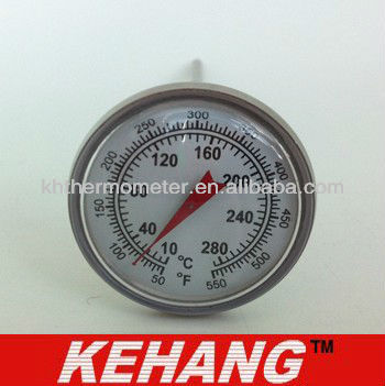 Dial Round BBQ Food Small Thermometer