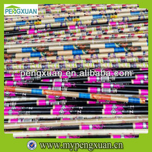 new products colorful PVC coated wooden round logs wholesale