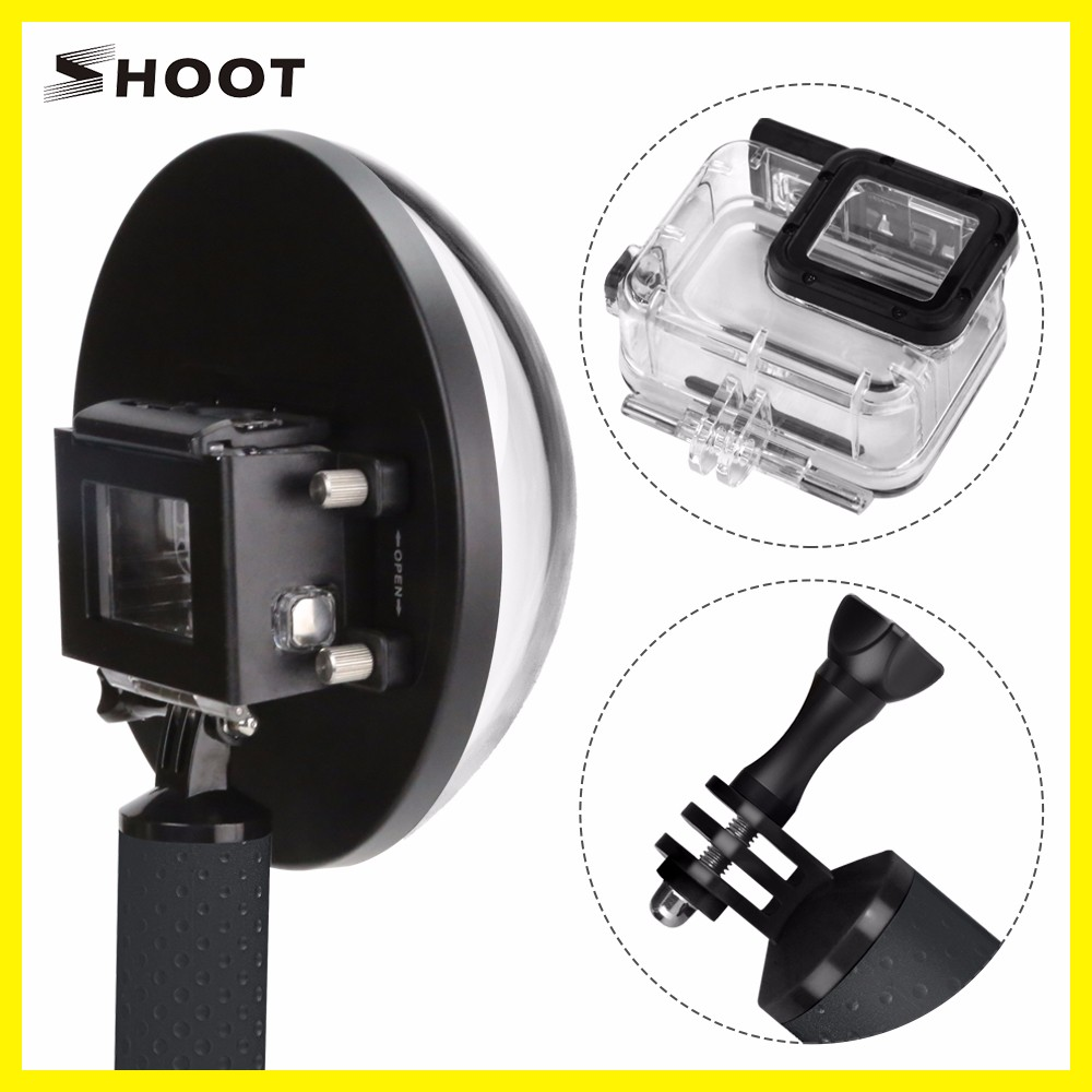 New Wholesale Factory Price for gopro Dome Port Waterproof Housing Cover for gopro Hero5