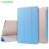 Alibaba Wholesale Online Matt oil Rubberized Silk Skin PU Leather Standing Flip Cover Case For IPad Pro 12.9