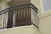 stainless steel railing design with discount price Metal balcony rail for hotel/glass balustrade/ railing designs in india