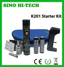 Top Rated E-Cig Starter Kit K200+ with All Functions.VV VW,Screen Color Changeable,Atomizer Resistance Testing