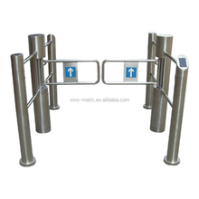 Swing Barrier with Fingerprint and RFID Access Control System