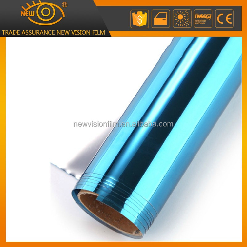 reflective plastic metallized custom window tinting film for building mirror