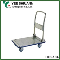 Yee Shiuann Stainless Steel Platform Hand Trolley Truck with Wheels