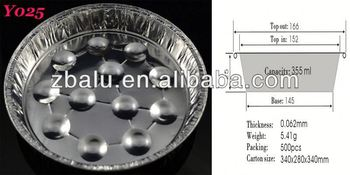 newest!! household aluminum foil container for food