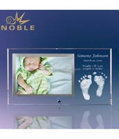 Baby Feet Picture Frame home decoration modern crystal photo frame