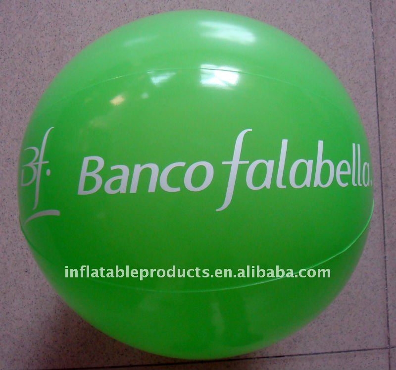 pvc inflatable ball toy/ beach toy