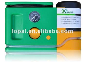 tire sealant air pump