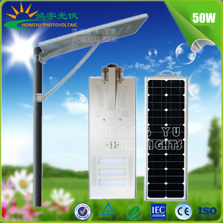 2017 hot selling All in one integrated Solar LED Street lights for Power 5W/8W/12W/15W/20W/30W/40W/50W/60W/80W/100W/120W