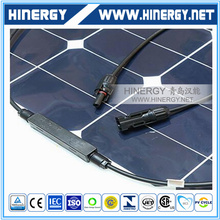 23% sunpower flexible solar cell with TUV CEC CE ISO UL certifications 100w flexible solar panel