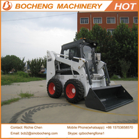 China mini skid steer wheel loader for sale 650D