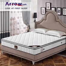 Hotel Chinese Soft Foam Mattress Pocket Spring Competitive Mattress