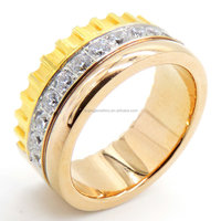 Cheap New Model Western Latest Designs Free Sample gold Wedding Ring