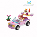 fashion girls cute assembled bricks novelty toy smart game from china