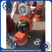 Planetary Grinding Machine 4 Heads Concrete Grinder Marble Floor Polishing Machine For Sale