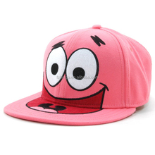 custom cartoon characters baby children 5 panel snapback caps and hats