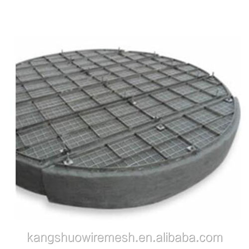 Hebei kangshuo 0.23 0.25 0.28 0.3mm wire 100 150mm thickness Circle shape demister pad