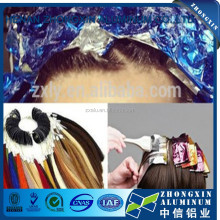 Color printed aluminum foil for marcel/hairsalon paper Henan supplier