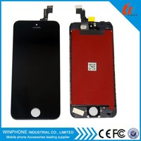 For iPhone 5 lcd screen frame with digitizer assembly and good price