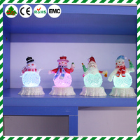 Plastic Clings Holiday Window Christmas Wall Stickers Santa Claus