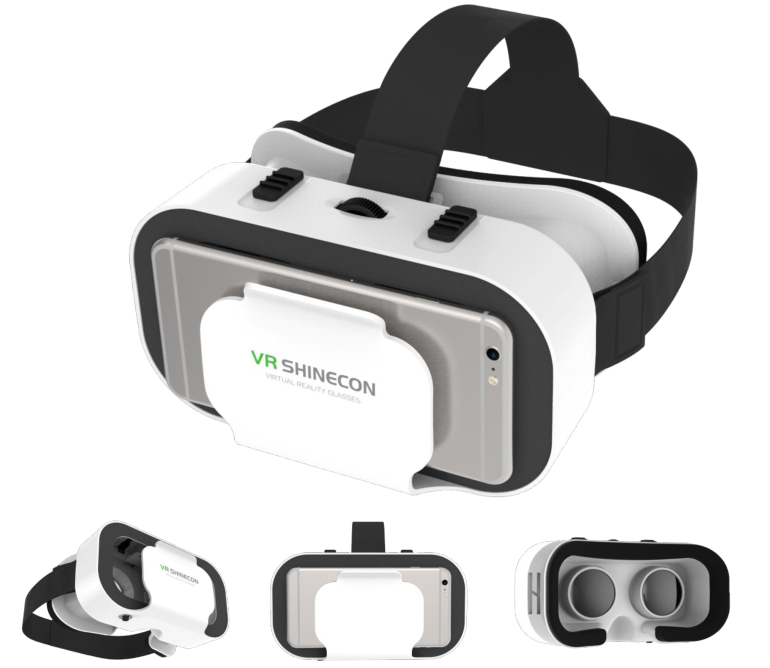 VR Shinecon hot selling virtual reality 3d vr glasses, VR glasses, vr 3d glasses for video and game playing