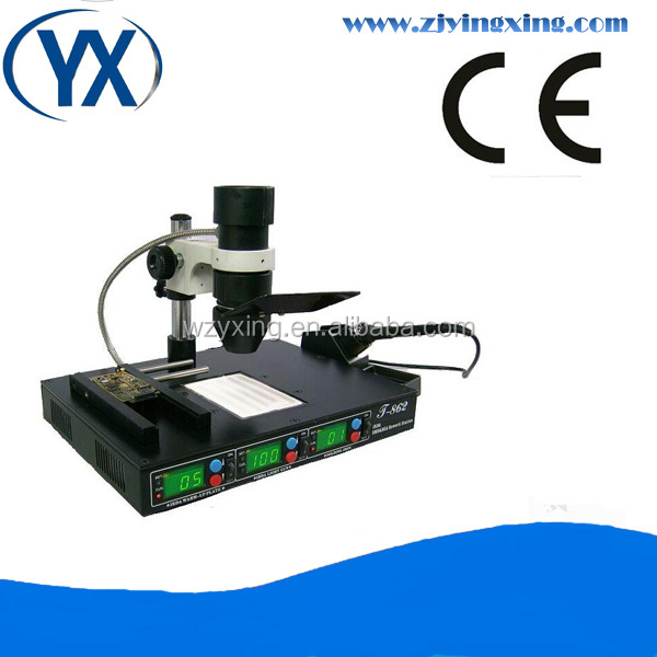 IRDA SMD & BGA Rework Station T862 SMD Components IRDA Soldering Welder Small SMT Machines