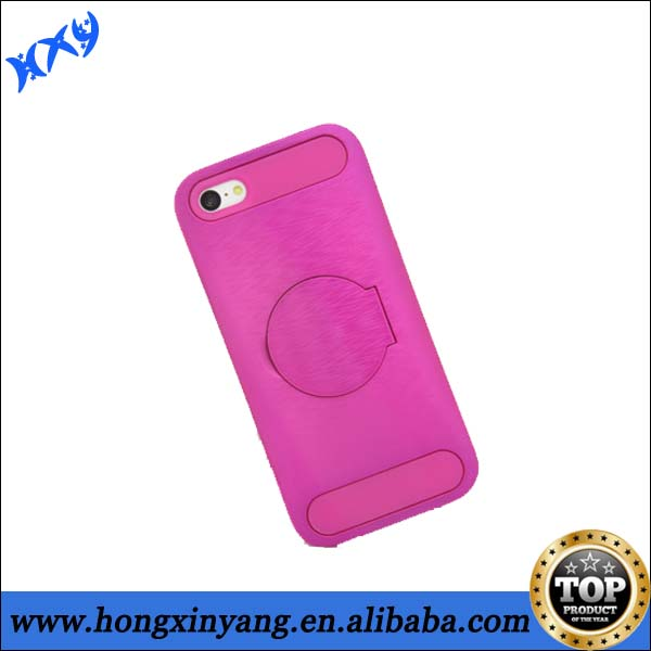 2014 High Quality Mobile Phone Case With Make Up Mirror For iPhone 5c