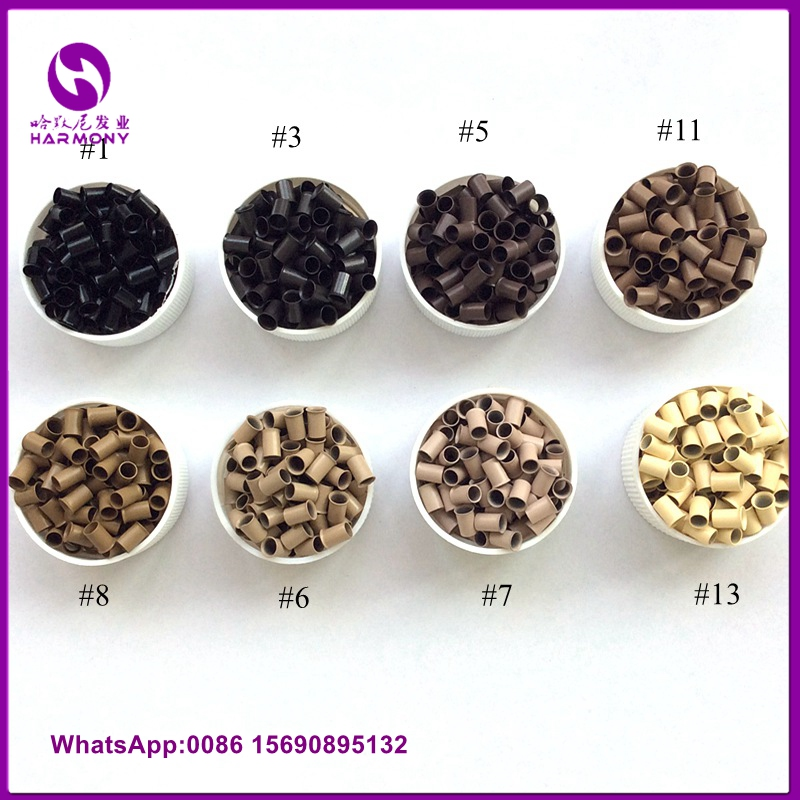 TOP QUALITY ALL KINDS micro ring beads for hair extension