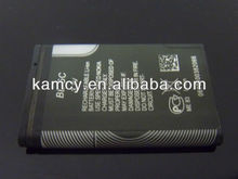 2013 new product nokia bl5c battery 3.7v rechargeable factory price