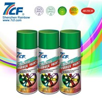 Cheap And Good Aerosol Rubber Paint By Can Package