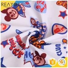 2017 Hot new products 20 s woven cotton textile animal print shirt fabric