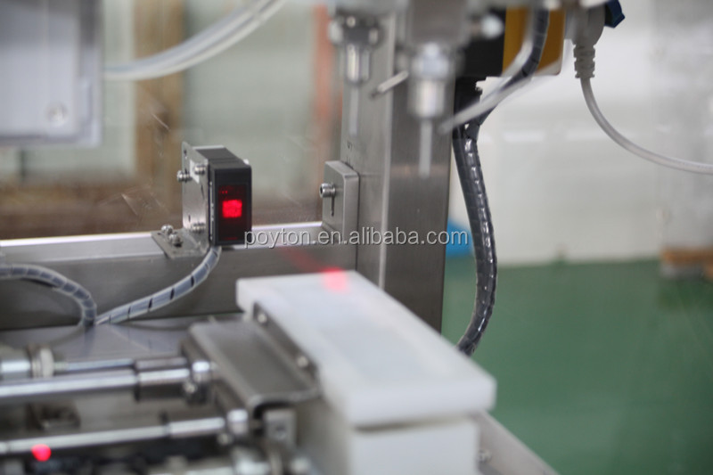 Vacuum blood collection tube production line with CCD inspection