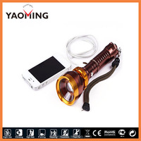 aluminum Cree xml T6 led flash torch,super bright cree led torch light,rechargeable cree led lights